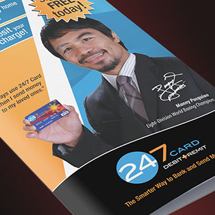 24/7 Card - marketing collateral