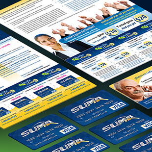 Suma Card - marketing collateral