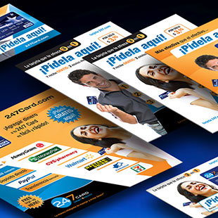 24/7 Card - marketing materials