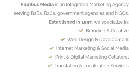 Pluribus Media is an Integrated Marketing Agency
